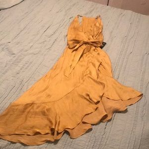 Yellow Express Dress Size S NWT